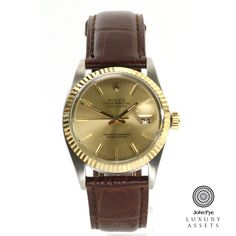 #Rolex Datejust Gents Stainless Steel Automatic #Watch