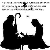 ¡Liberemos la Navidad de la mundanidad que la ha secuestrado! El verdadero espíritu de Navidad está en la belleza de ser amados por Dios.