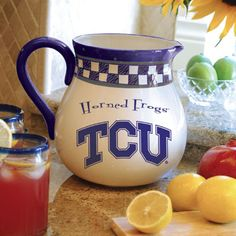 Texas Christian Horned Frogs Gameday Pitcher $39.99