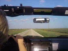 One of the best ways to drive a Jeep...Is on an open road. :)