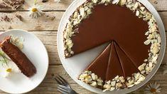 Čokoládovo-orechová torta