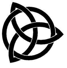Cool celtic design - talisen pendant standing for talent & integrity