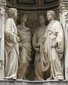 Nanni di Banco - Quattro Santi Coronati, 1409-16 per la chiesa di Orsanmichele a Firenze