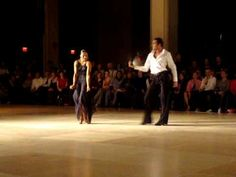 [Rumba] Stefano Di Filippo & Anna Melnikova - BU Terrier Dancesport Comp 2009 #latin #rumba #dressconversion #moving song