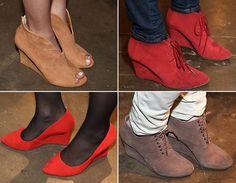 Moda de rua SPFW: aposte nos saltos wedge no inverno! - Radar Fashion - CAPRICHO