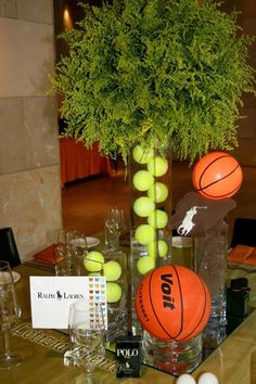 sports themed bar mitzvah