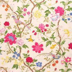 Lee Jofa JARDIN CHINOIS CREAM Fabric