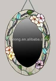 Image result for mirror designs stained glass