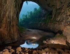 The Hang Son Doong cave in Quang Binh Province, Vietnam. You can find great Vietnam hotel deals starting from Dong Hoi, Beautiful Places In The World, Beautiful Places To Visit, Places To See, Amazing Places, Wonderful Places, Vietnam Cave, Laos Vietnam, North Vietnam