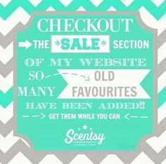 Scentsy Closeout Sale https://shellyhill.scentsy.us/Buy/Category/2891