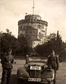 Nazis at Thessaloniki Old Pictures, Old Photos, Greek History, Thessaloniki, Macedonia, The Past, Earth, Black And White, City