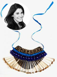 An Eye-Catching Bib Necklace You Can Make At Home