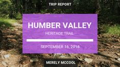 Hiking Humber Valley