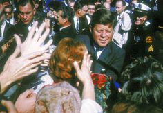 The last day of President John F. Kennedy Nov. 22, 1963