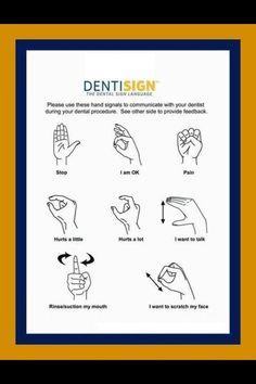 The Dental Sign Language #Dentist #Dental #Hygienist (Orthopride Orhan Düzgün Oregon Trail: American Settler American Dental Software Dental Arts Studio)