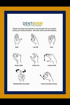 The Dental Sign Language #Dentist #Dental #Hygienist (Orthopride Orhan Düzgün Oregon Trail: American Settler American Dental Software Dental Arts Studio)