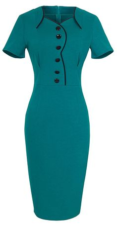 Looking for the perfect Homeyee® Women's Elegant Business Summer Party Bodycon Peplum Midi Dress Green)? Please click and view this most popular Homeyee® Women's Elegant Business Summer Party Bodycon Peplum Midi Dress Green). Peplum Midi Dress, Bodycon Dress, Dress Outfits, Fashion Outfits, Frack, African Fashion Dresses, Classy Dress, Work Attire, Dress Patterns