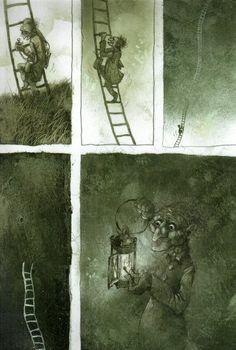 Pavel Čech Illustrators, Fairy Tales, Drawings, Painting, Art, Children Books, Art Background, Painting Art, Kunst