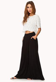 Forever 21 Pleated Maxi Skirt $24