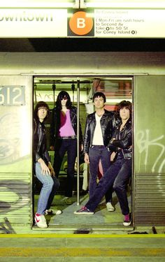 The Ramones via @PunKandStuff