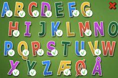 HC Andersen Gæt ABC. Lær bogstaverne. Appen koster 12 kr
