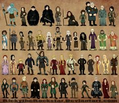 Personajes GoT