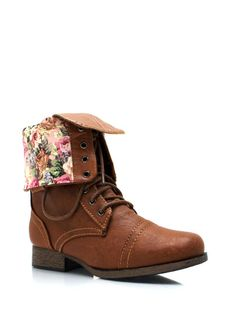 Zip Back Combat Boot on sale at MakeMeChic.com for only $18.95 :)
