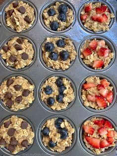 Healthy Banana Oat Muffins Ingredients) - The Lazy Dish recipes easy 3 ingredients Oat Muffins Healthy, Banana Oatmeal Muffins, Banana Oats, Oat Pancakes, Snack Recipes, Cooking Recipes, Healthy Recipes, Breakfast Recipes, Dessert Recipes