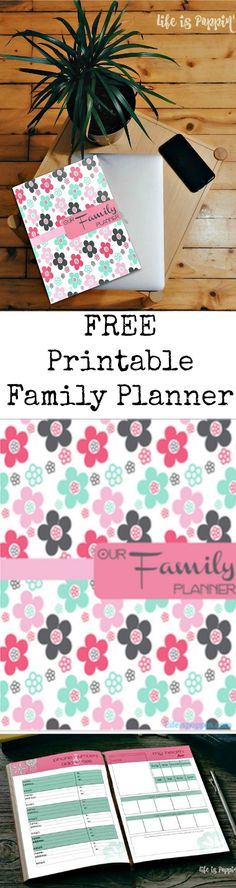 Is there a fine line between order and utter chaos at home? I feel ya. We are living in a world that is increasing demanding which means life can tend to be a little hectic. I don't know about you, but I need a cheat sheet to keep me somewhat sane. I have put together this 24 page printable family planner that has absolutely everything you need to get and stay organized!