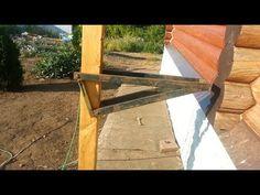 Самодельные строительные леса с изменяемой высотой настила - YouTube