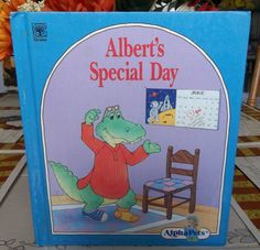 AlphaPets  Albert's Special Day A Grolier by TheLazyBeeBookstore, $2.99