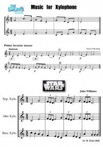 Elementary Music - Star Wars for Xylophone