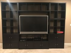 1000 ideas about ikea entertainment center on pinterest entertainment entertainment centers. Black Bedroom Furniture Sets. Home Design Ideas