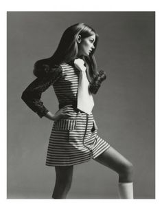 Vogue - March, 1969 - Gianni Penati photo - Jean Shrimpton, model