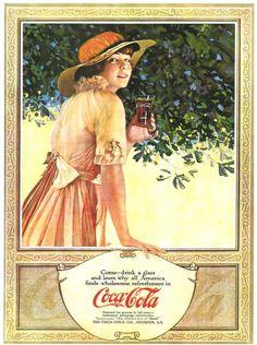 Coca-Cola: El génesis en imágenes