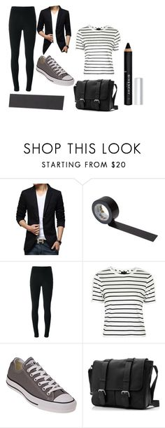 """My tape face costume"" by official-siwanator on Polyvore featuring Givenchy, Topshop and Converse"