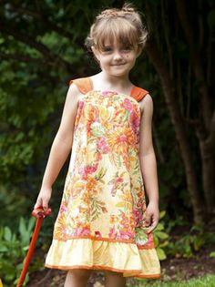 Bloom Girl Dress | Baby :Beautiful Designs by April Cornell