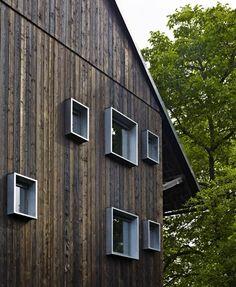 Création de 4 chambres dhôtes by Loïc Picquet Architecte