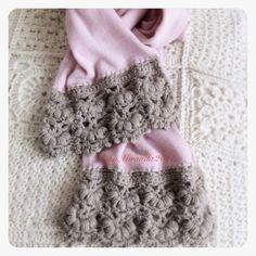 2012 work in progress: Bordo crochet per sciarpa.