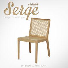 Cadeira Serge | Design: Marcelo Ligieri