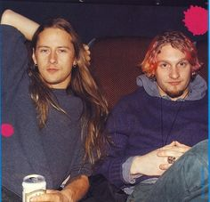 Picture of Layne Staley and Jerry Cantrell