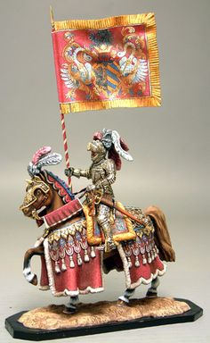 Medieval Mounted Knights 54mm