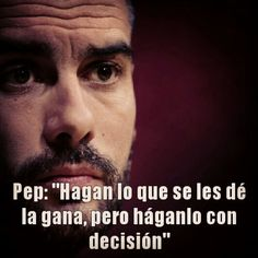 Sigan este consejo de Pep Fc Barcelona, Play Hard, Tips