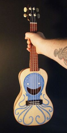 Ukulele OCTOPUS // release the (happy) kraken!