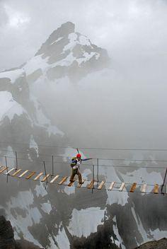 Monte Nimbus Via Ferrata, Canada