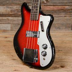 '68 Teisco Short Scale Bass #guitar #bass #vintage #gear #guitarporn
