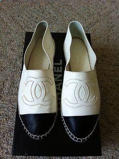 Chanel Espadrilles / ish bloggers wear