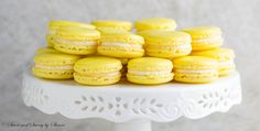 Lemon French Macarons- perfect spring-flavored confections that you can make right at home with my new video tutorial!