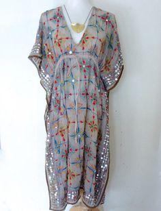 Beautiful Embroidered Kaftan  Ethnic Dress tunic by YoungRelic #boho #bohemian