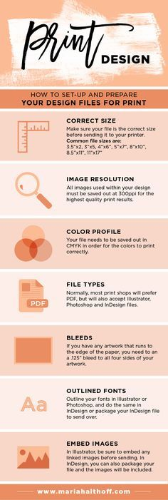 How to Set-Up and Prepare your Design Files for Print — Mariah Althoff – Graphic Design + Freelancing Tips - There is surprisingly a lot of detail that goes into setting up a design file for print. Design Page, Graphisches Design, Design Basics, The Design Files, Design Blog, Graphic Design Tutorials, Graphic Design Inspiration, Game Design, Print Design